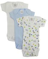 Preemie Boys Short Sleeve Printed Variety Pack