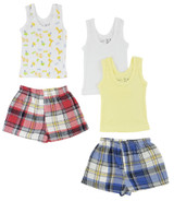 Boys Tank Tops And Boxer Shorts - BLTCS_0216M