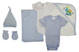Newborn Baby Boy 6 Pc  Baby Shower Gift Set