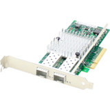 AddOn HP 581201-B21 Comparable 10Gbs Dual Open SFP+ Port Network Interface Card with PXE boot