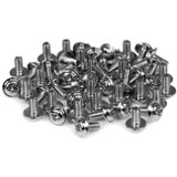 StarTech.com Computer Screws M3 x 1/4in Long Standoff - 50 Pack