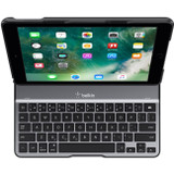 """Belkin QODE Ultimate Lite Keyboard/Cover Case for 9.7"""" Apple iPad (5th Generation), iPad Air Tablet - Black"""