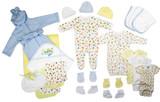 Newborn Baby Boys 25 Pc  Baby Shower Gift Set