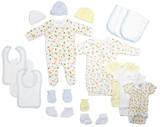 Newborn Baby Boys 18 Pc  Baby Shower Gift Set