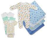 Newborn Baby Boy 8 Pc  Baby Shower Gift Set