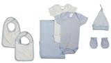 Newborn Baby Boy 7 Pc  Baby Shower Gift Set