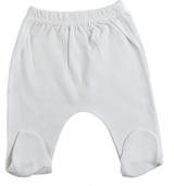 White Closed Toe Pants - BLTCS_0536NB