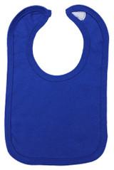 Royal Blue Interlock Bib