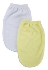 Washcloth Mitt - 2 Pc Set
