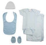 Boys 5 Piece Blue  Set