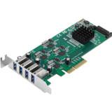 SIIG 4-Port SuperSpeed USB 3.0 PCIe Card - Quad Core
