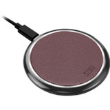 SIIG Premium Wireless Smartphone Charger Pad - Brown