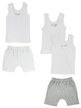 Infant Tank Tops And Shorts - BLTCS_0330NB