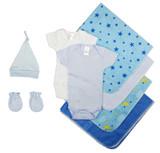 Essential Newborn Baby Boy 8 Piece  Set