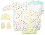 Neutral Newborn Baby 7 Pc  Baby Shower Gift Set