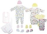 Newborn Baby Girls 11 Pc  Baby Shower Gift Set