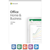 Microsoft Office 2019 Home & Business - License - 1 PC/Mac, 1 Device