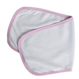 Terry Burpcloth With Pink Trim