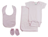 Girls 4 Piece Pink  Set