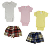 Infant Onezies And Boxer Shorts - BLTCS_0208L