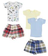 Infant Girls T-shirts And Boxer Shorts - BLTCS_0220M