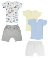 Infant Girls T-shirts And Shorts - BLTCS_0337NB