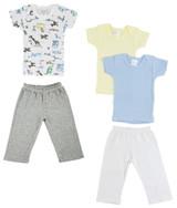Infant Girls T-shirts And Track Sweatpants - BLTCS_0465NB