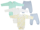 Infant Boys Long Sleeve Onezies And Joggers - BLTCS_0497NB