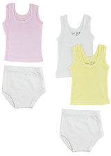 Girls Tank Tops And Training Pants - BLTCS_0529M