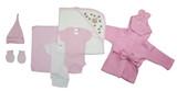 Essential Newborn Baby Girl 7 Piece  Set