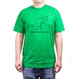 Grandpasaurus Rex Green Men's Shirt