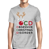 OCD Obsessive Christmas Disorder Grey Men's Tee Cute Holiday Gift