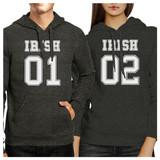 Irish 01 Irish 02 Funny Matching Hoodies For Couples Irish Couples