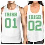 Irish 01 Irish 02 Patricks Day Tank Top For Couples Cute Gift Ideas