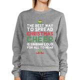 Best Way To Spread Christmas Cheer Sweatshirt Cute Fleece Sweater