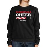 Christmas Cheer Loading Sweatshirt Winter Pullover Fleece Sweater