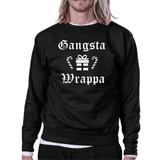 Gangsta Wrappa Sweatshirt Cute Holiday Pullover Fleece Sweater
