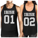 Irish 01 Irish 02 Cute Couples Matching Tanks For St Patricks Day