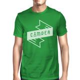 Camper Men's Green Cotton Unique Graphic T Shirt Summer Gift Idea