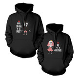 Skeleton Couple Cute Matching Hoodies Halloween Hooded Sweatshirts