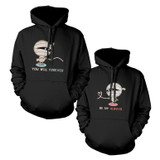 Mummies Couple Cute Matching Hoodies Halloween Hooded Sweatshirts
