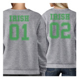 Irish 01 Irish 02 Cute Gift Idea Irish Couples Matching Sweatshirts