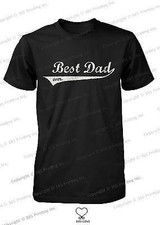 Best Dad Ever Swash Style T-Shirt - Father's Day Gift Idea, Gift for Dad