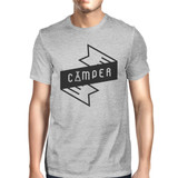Camper Men's Gray Cotton TShirt Trendy Design Earth Day Special Tee