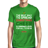 Best Way To Spread Christmas Cheer Green Unisex Shirt Holiday Gift