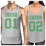 Irish 01 Irish 02 Funny Matching Tank Top For Couples Irish Couples