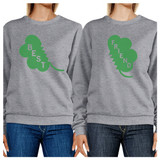 Best Friend Clover Funny Matching Sweatshirt For St Patricks Day