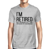 I'm Retired Cute Shirt for Grandfather Cute Tee Christmas Gifts for Grandpa - 3PECT024 MS