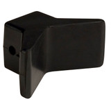 """C.E. Smith Bow Y-Stop - 3"""" x 3"""" - Black Natural Rubber"""