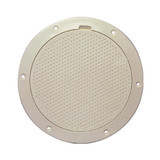 """Beckson 6"""" Non-Skid Pry-Out Deck Plate - Beige"""